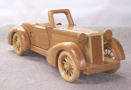 Free Auburn Toy Car Plan