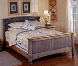 Country Fresh Bed Woodworking Plan