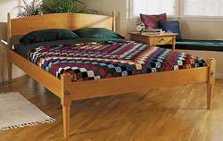 Shaker Bed Woodworking Plan