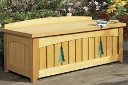 Bench With Storage Woodworking Plan