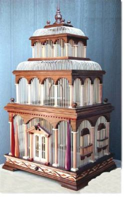 Bird Cage, Venice Woodworking Plan