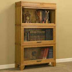 barrister bookcase plans stackable