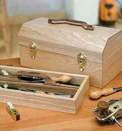 Toolbox Classic Shop Project Woodworking Plan