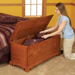 plans for blanket chest