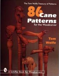 86 Cane Patterns for the Woodcarver woodworking plans