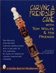 Carving a Friendship Cane Woodworking Book