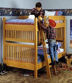 Mission Bunk Bed Woodworking Plans