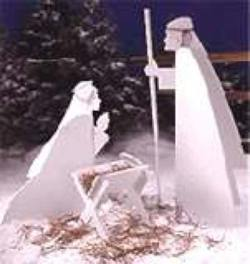 Nativity woodworking Plan
