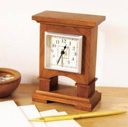 Desk Clock Woodworking Plans