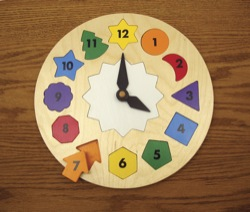 clock puzzle woodworking plan
