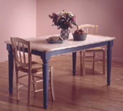 Country Style Kitchen Table Woodworking Plan