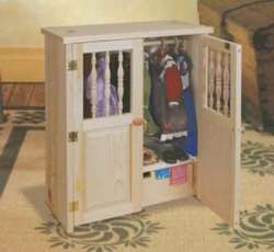 Doll Armoire furniture woodworking plan
