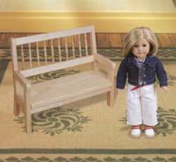 Doll Bench Woodworking Plan