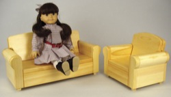Doll Sofa and Chair Woodworking Plan