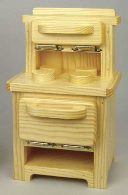Doll Stove Furniture Woodworking Plan