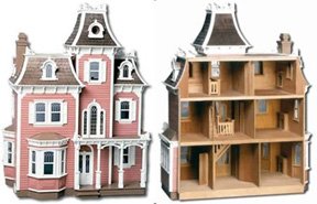 TheBeacon Hill Dollhouse Woodworking Kit