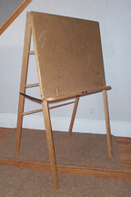 Free Wooden Book Easel Plan