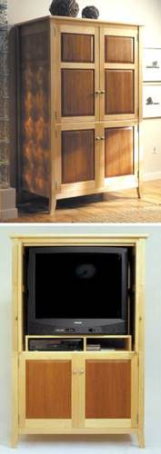 Armoire Entertainment Center Woodworking Plan
