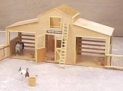 Toy Barn Woodworking Plans