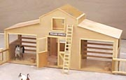 Breyer Horse Stable Woodworking Plan