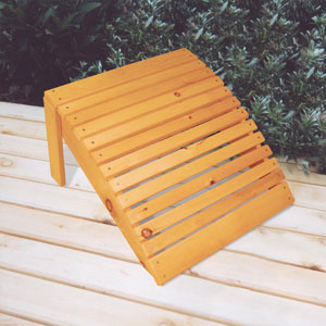 adirondack chair stool plans free