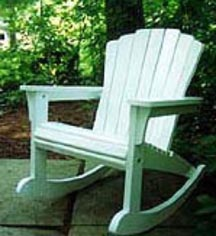 Adarondack chair woodworking plans