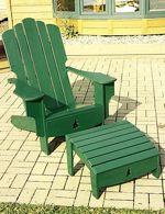 Adirondack chair woodworking plans