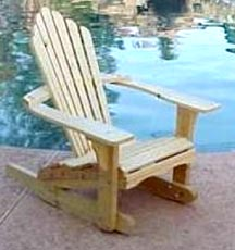 Adirondack Chairs on Adirondack Rocking Chair Is The Most Comfortable Wooden Chair Thatwe