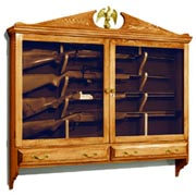 woodworking plans gun cabinets
