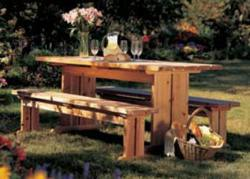 Best Yet Picnic Set Woodworking Plan