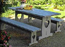 Picnic table woodworking plan