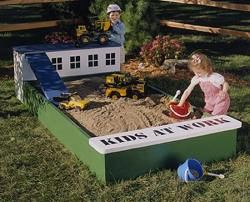 Playhouse woodworking plan