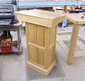 woodworking plans lectern