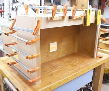 How To Make A Roll Top Appliance Garage
