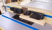 Router table attachments