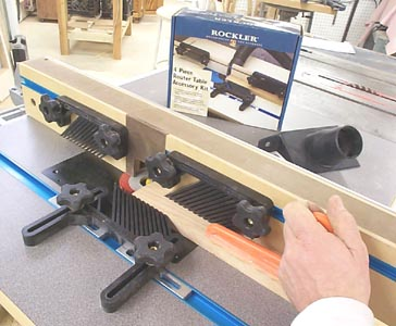 Featherboards Router Table