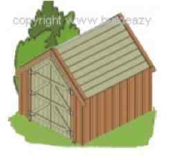 Board and Batten Shed woodworking plan