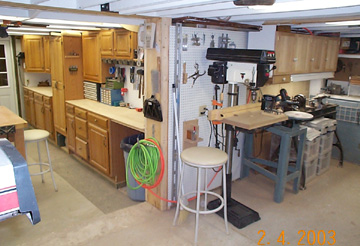 Popular Garage Woodworking Layouts  Garage Woodwork