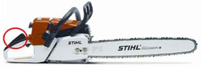 Stihl Chainsaw woodworking tool