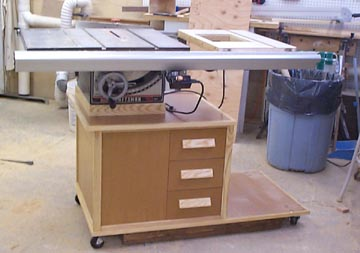 Surprising Table Saw Cabinet From Wood Magazine Home Interior And Landscaping Synyenasavecom