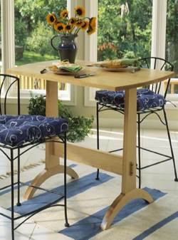 Shaker Trestle Table Woodworking Plan