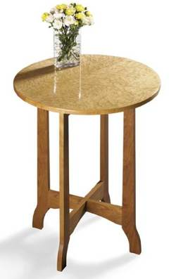Occasional Table Woodworking Plan