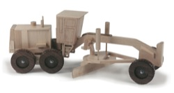 Road Grader Construction Vehicle Woodworking Plan
