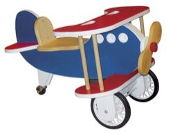 Toddler Airplane Scooter Woodworking Plan