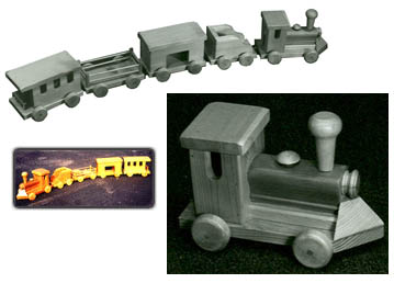 Free Wooden Toy Train Designs