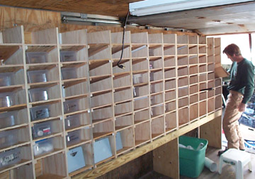 van shelf woodworking plans