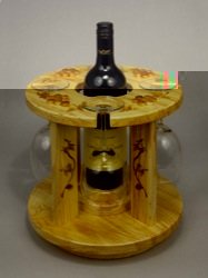 Wine Caddy woodworking plan