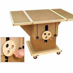 Adjustable 3-in-1 Assembly Table Classic Shop Woodworking Plan