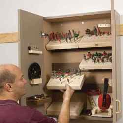 Router Cabinet with a Bit More Classic Shop Woodworking Plan