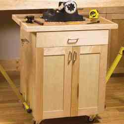 3 Mobile Carts Classic Shop Woodworking Plan